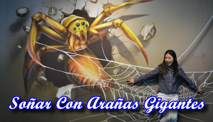 Soñar Con Arañas Gigantes
