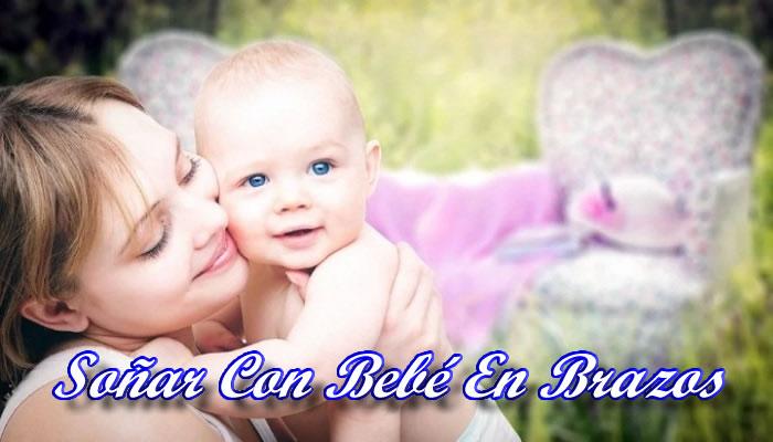 Soñar con un bebé niña en brazos