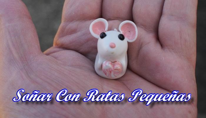 Soñar con ratas pequeñas